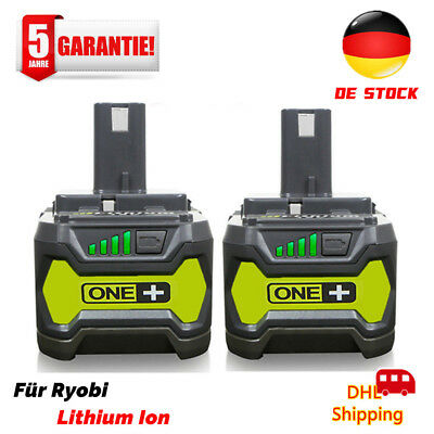 2X für P108 Ryobi 18V One Plus Lithium High Capacity Akku P104 P105 P107 4,0Ah