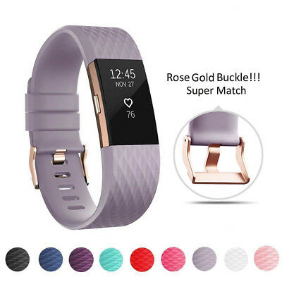 For Fitbit Charge 2 Wrist Strap Wristbands Best Replacement Accessory Watch Band