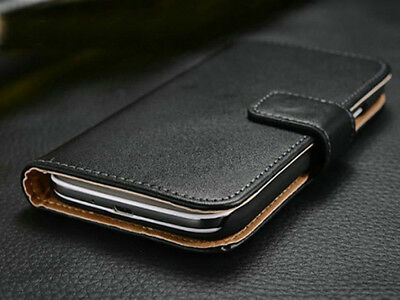 for Samsung Galaxy S4 S7 Active Genuine Leather Flip Magnetic Wallet Case Cover