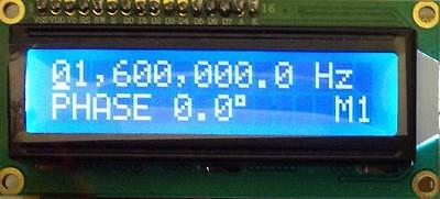 PIC16f28A DRIVER For AD9851 DDS Signal Generator Module & 2x16 LCD Display Mod.