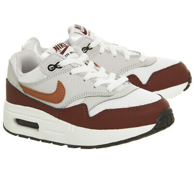 KIDS NIKE AIR Max 1 (Ps) Sail Vintage Coral Mars Stone