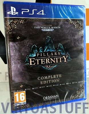 Pillars Of Eternity, Completed Edition, Playstation 4, PS4, ITA, factory sealed!
