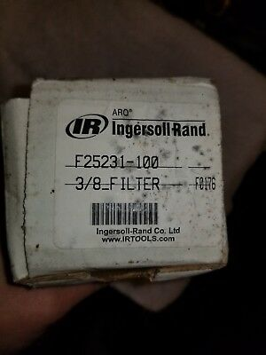 "Ingersoll Rand F25231-100 3/8"" Filter * New In Box *"