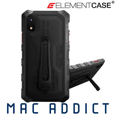 Element Case Black Ops Elite Premium Rugged Case + Stand & Holster For iPhone XR