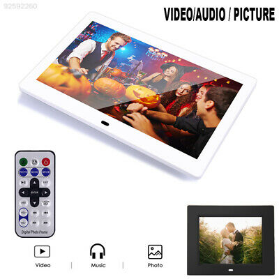13E5 Durable Digital Photo Frame Electronic Picture Player Remote Control Frame