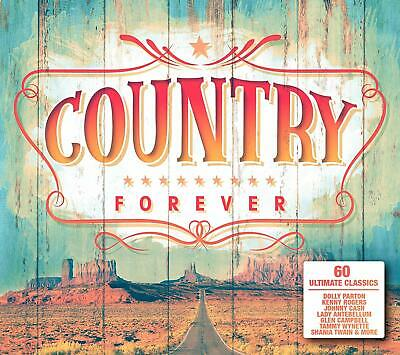 COUNTRY FOREVER 3 CD VARIOUS ARTISTS (Released 22/3/2019)