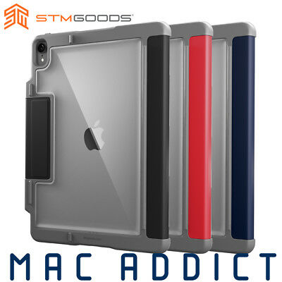 "STM Dux Plus Rugged Folio Case w/ Apple Pencil Holder For 11"" iPad Pro"