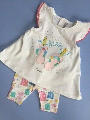 Spanish Designer MAYORAL Baby Girls Summer Outfit 6 months WAS £29 NOW £14 SALE