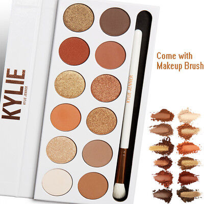 12 Shades The Bronze Extended Eyeshadow Palette Makeup Cosmetic Collection Set