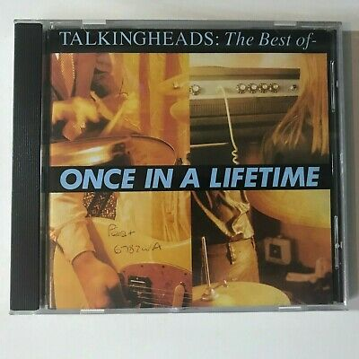 Talkingheads The Best of Once in a lifetime CD Talking Heads Music Songs