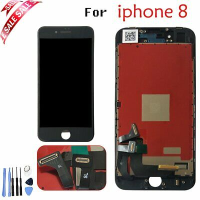 """Black for iPhone 8 4.7"""" Replacement LCD Display Touch Screen Digitizer Assembly"""