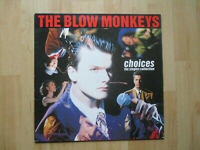 BLOW MONKEYS Vinyl LP Choices,The Singles (Incl It Doesn't Have To Be This Way)
