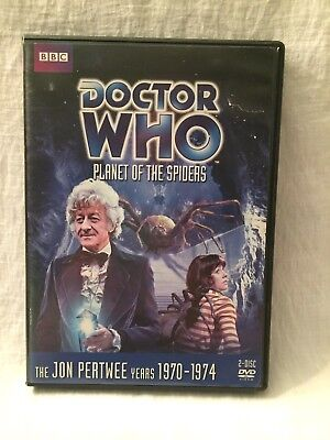 DOCTOR WHO The Planet of the Spiders DVD Story 74 Jon Pertwee BBC Region 1