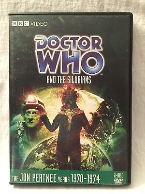 DOCTOR WHO and the Silurians DVD Story 52 Jon Pertwee BBC Region 1