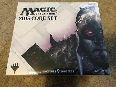 Magic the Gathering MTG 2015 CORE SET (M15) Factory Sealed Fat Pack - Brand New