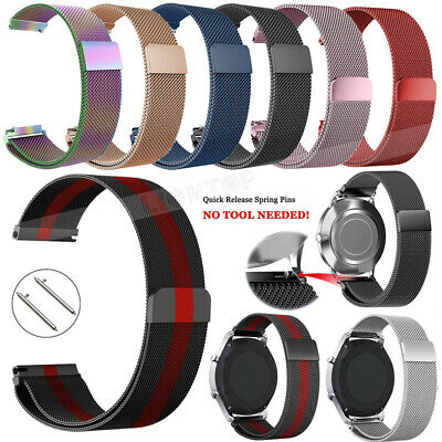 Milanese Loop Stainless Steel Strap Band for Xiaomi Huami Amazfit Bip BIT PACE