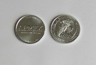 Apmex 1 Ounce .999 Silver Round New & Shiny Untouched in pouch Collect & Save