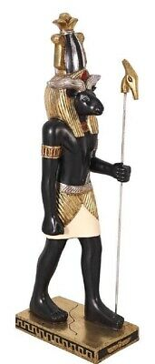 Ancient Egyptian (3 Foot) Ram Headed God of the Nile Knhum Sculptural statue