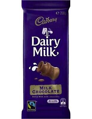 Cadbury Dairymilk Chocolate 200gm x 16