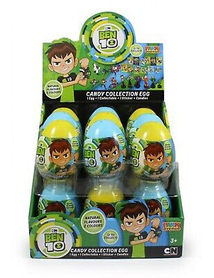 Park Avenue Ben 10 Candy Collection Egg 10gm x 18