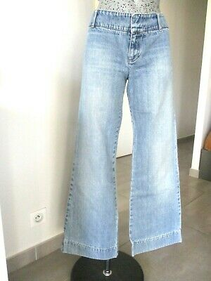 Taille Jean Marine Velours Pour Uk Bleu Femme 10 Bootcut Jeans vY6fbg7y