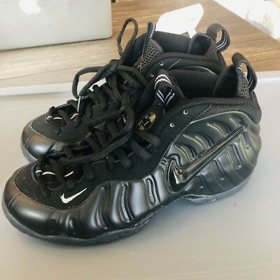 3ce70268203 NIKE AIR FOAMPOSITE Pro Blackout Stealth 630304-002 2000 Anthracite ...