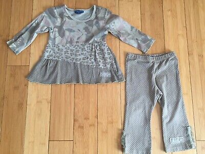 Girls' Clothing (newborn-5t) Outfits & Sets Girls Trouser/top 12-18 Months