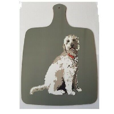 Cream Labradoodle Chopping Board - By Betty Boyns - Uk Seller - Fast Despatch