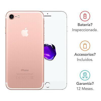 Apple iPhone 7 / 32GB / Oro Rosa / Libre