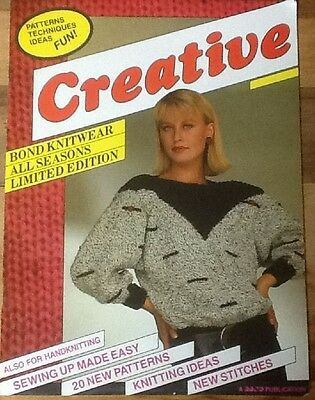Creative Pattern Book For Bond / USM / Ultimate Sweater Machine Incredible (8mm)