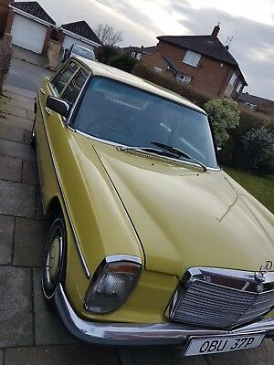 Stunning Tax /MOT Exempt Mercedes 230.4 Auto CAN DELIVER W115 /8 W114 w. LEATHER