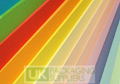 5 A4 Size COLOURED Card / Paper Sheets - INTENSE GREEN - 160gsm