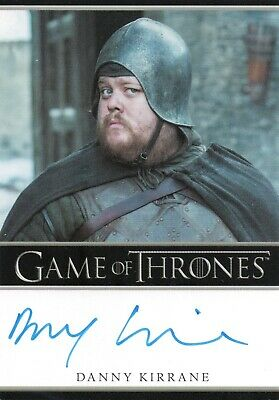 Game of Thrones Season 7, Danny Kirrane 'Henk' Autograph Card