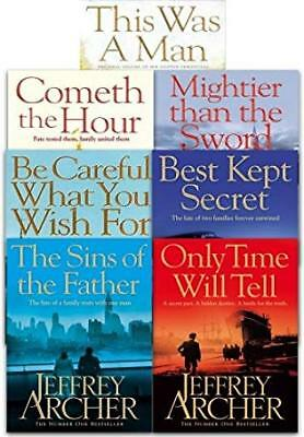 The Complete Clifton Chronicles 1-7 By Jeffrey Archer - Audiobooks