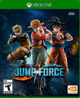 JUMP FORCE for xbox one - No cd-- READ DESCRIPTION