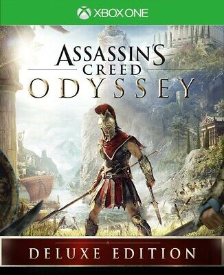 Assassins Creed Odyssey Deluxe EDITION for xbox one - No cd-- READ DESCRIPTION