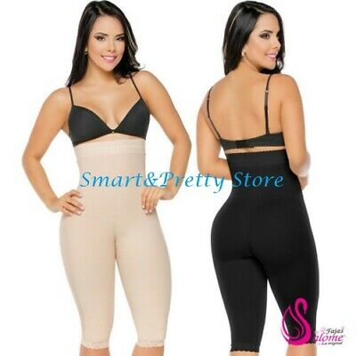 dec9347ac66c6 Leggins Capri Fajas Salome 0219 High Waist Powernet Compression Short For  Women