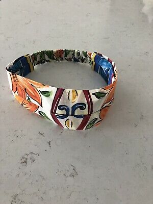 Authentic New dolce and gabbana Baby Girl Headband With Proof Of Purchase 54cm