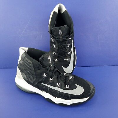 647037c592e4 Nike Air Max Audacity Athletic Shoes Basketball Black White 843884 001 Sz  12 Men