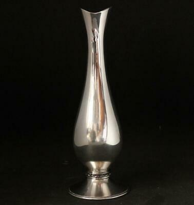 Mid 20th Century Modernist Sterling Silver Vase by Meister Zurich/Switzerland
