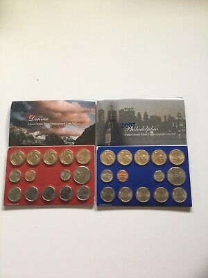 2007 US Mint Uncirculated P & D Complete Coin Set Unopened Box