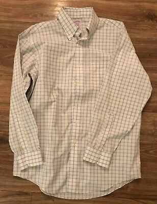 brooks brothers shirt Mens 100% Supima Cotton Multi Color Button Down