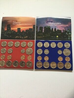 2009 US Mint Uncirculated P & D Complete Coin Set Unopened Box