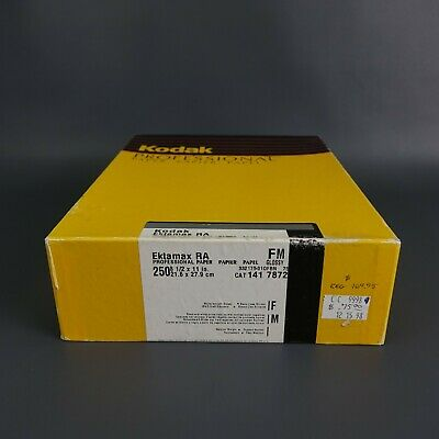 "KODAK Ektamax RA Black and White 250 sheets 8 1/2"" by 11 in. Factory Sealed"