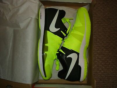 a9ce613fac6 NIB Nike Federer Zoom Vapor 9.5 Tour Tennis Shoes 631458 Hot Lava or Volt  Yellow
