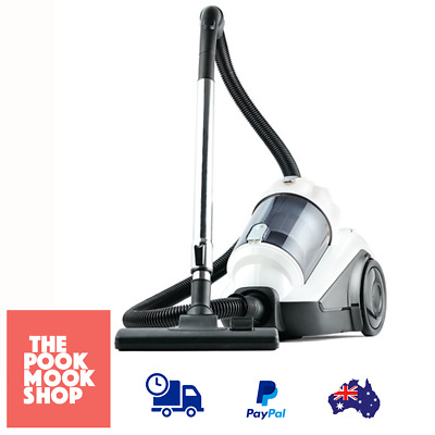 2200W Bagless Vacuum Cleaner Heavy Duty Floor Head Dual Cyclone Dust Filtration