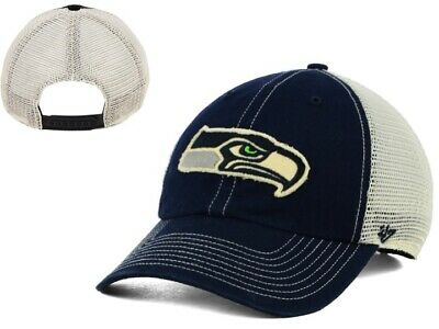 4f1a389d8b9 New NWT Seattle Seahawks NFL  47 Brand Canyon Clean Up Mesh Snapback Cap Hat  GD