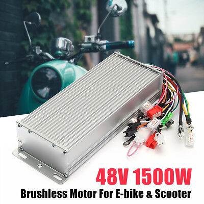 DC 48V 1500W Brushless Motor Controller For E-bike Scooter Electric Bicycle !