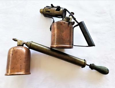 VINTAGE INSECT SPRAYER AND DARLTON BLOWTORCH c1950's
