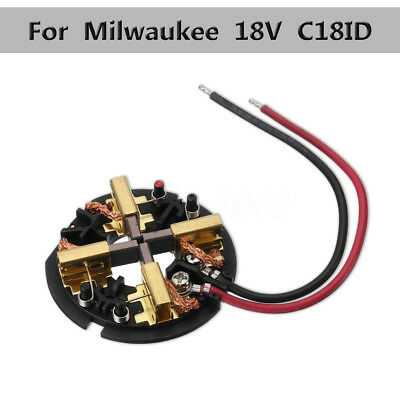 18V 27W Carbon Brushes Kit For Milwaukee C18PD C18ID HD18PD HD18DD HD18DD